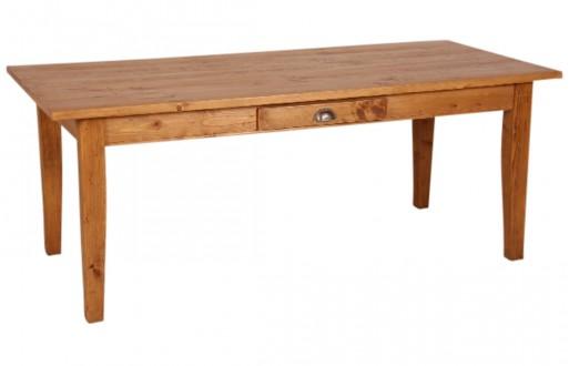 Tisch in honigbraun aus Kiefer \