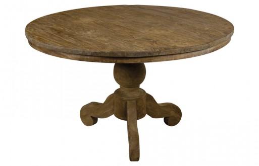 runder Tisch Dinkleh -Massivholz unbehandelt - Esstisch rund - 1