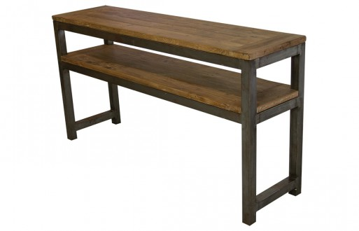 Wandtisch-Mittelbrett-Massivholz