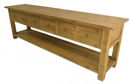Wandtisch-Massivholz